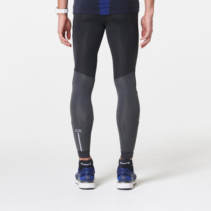 MEN'S RUNNING TIGHTS KIPRUN WARM - BLACK
