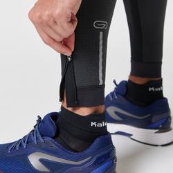 MEN'S RUNNING TIGHTS KIPRUN WARM - BLACK