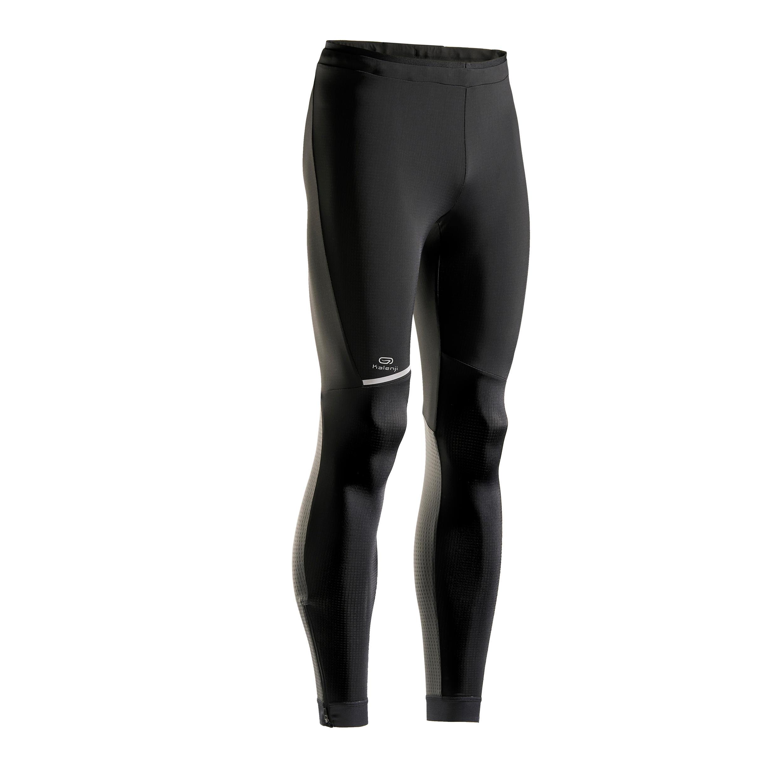 Laufhose lang Tights Kiprun Warm Herren | Sportbekleidung > Sporthosen > Laufhosen | Kiprun