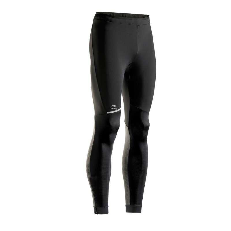 MAN ROAD RUNNING COLD WEATHER CLOTHES Clothing - KIPRUN MEN'S RUNNING TIGHTS KIPRUN - Bottoms