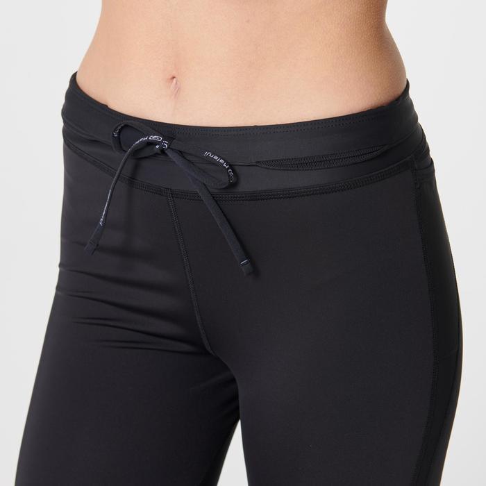 Hardloopbroek voor dames Kiprun Support zwart