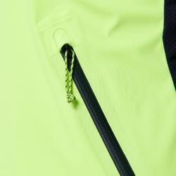 Hardloopjasje voor heren Kiprun Warm Regul geel/zwart
