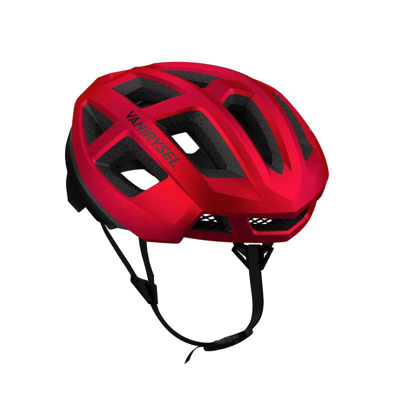 CASCHI BICI DA CORSA Ciclismo, Bici - Casco ciclismo ROADR 900 rosso VAN RYSEL - ABBIGLIAMENTO UOMO E DONNA