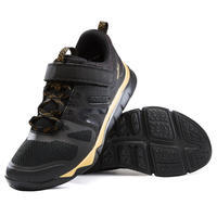 Sportschuhe Walking PW 540 Kinder schwarz/gold
