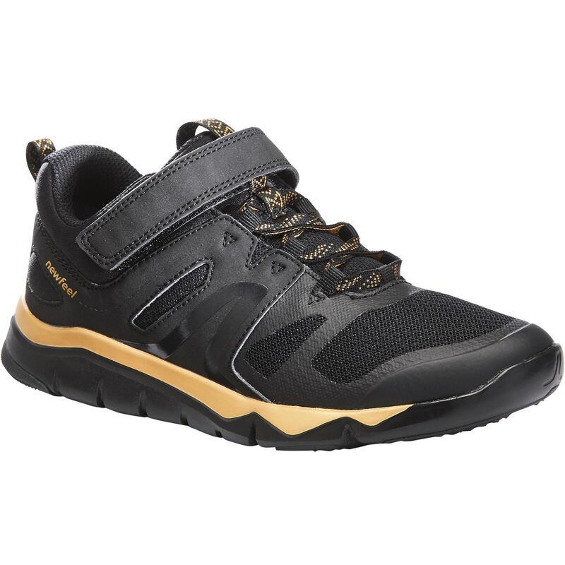 Scarpe camminata bambino PW 540 nero-oro