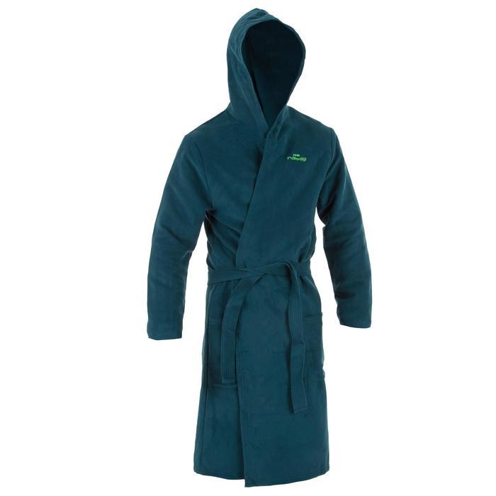 Pack peignoir vert et serviette microfibre L 80 * 130 cm verte