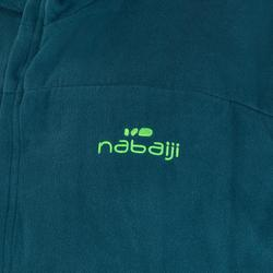 Set microvezel badjas en handdoek L 80x130 cm groen