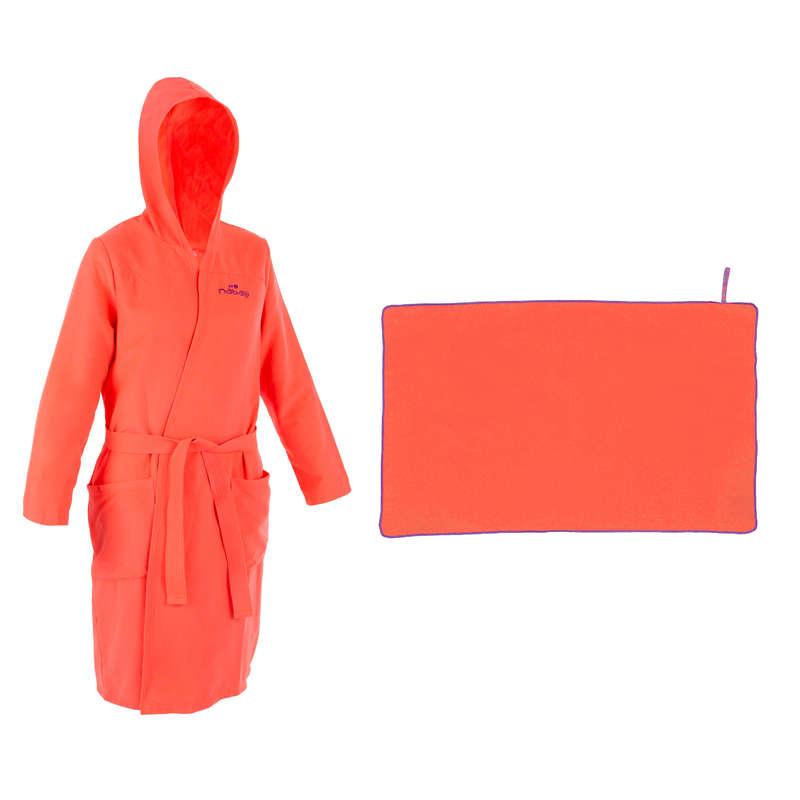 SZLAFROKI BASENOWE Waterpolo - Szlafrok+ręcznik L mikrofibra NABAIJI - Waterpolo