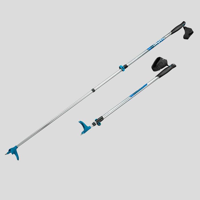 Verstelbare langlaufstokken XC S POLE 150 volwassenen