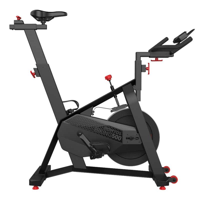 BIKINGFITNESS CARDIO Fitness - Spincykel Biking 500 DOMYOS - Fitnessmaskiner