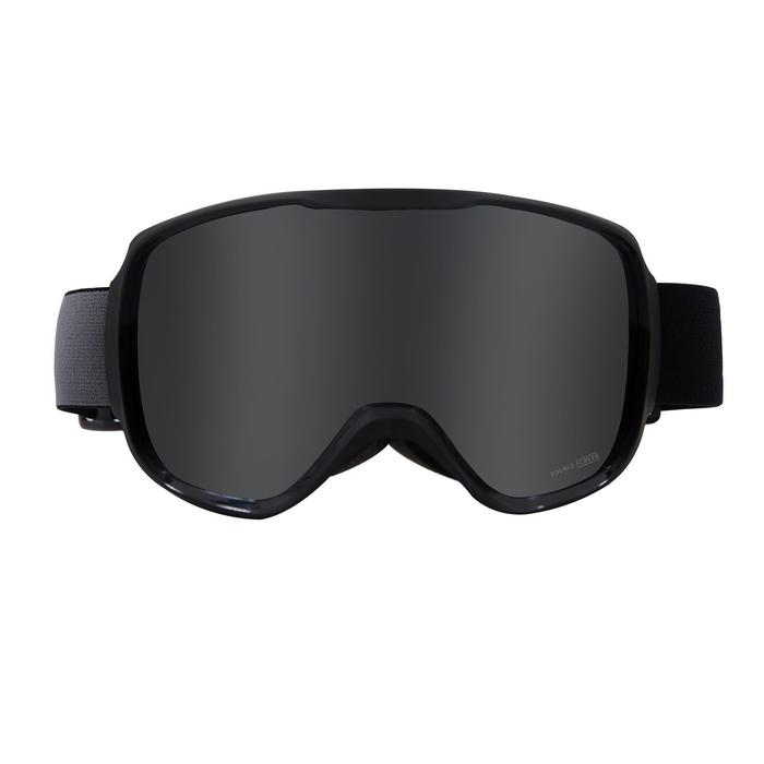 兒童與成人好天氣單/雙板滑雪護目鏡G500 - 亞洲藍