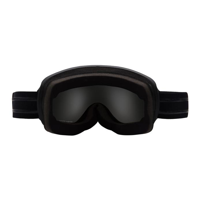 KIDS' AND ADULTS' SKIING AND SNOWBOARDING GOGGLES G500 GOOD WEATHER - ASIA BLUE