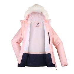 女款下坡滑雪外套180 - 粉色