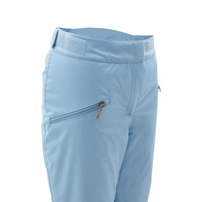 女款下坡滑雪長褲180 - 藍色
