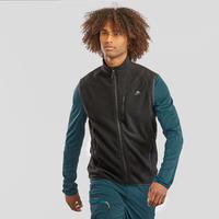 Men's Hiking Fleece Sleeveless Jacket MH120