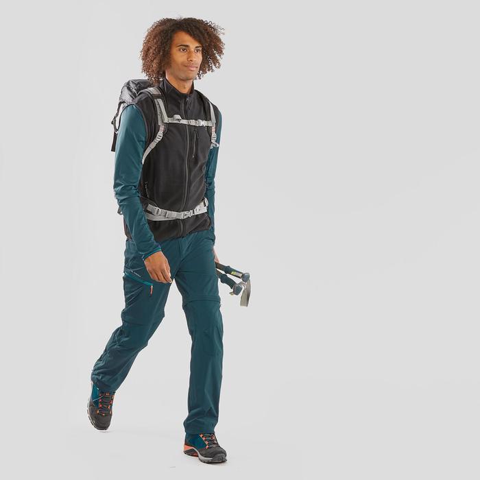 男款登山健行刷毛背心MH20