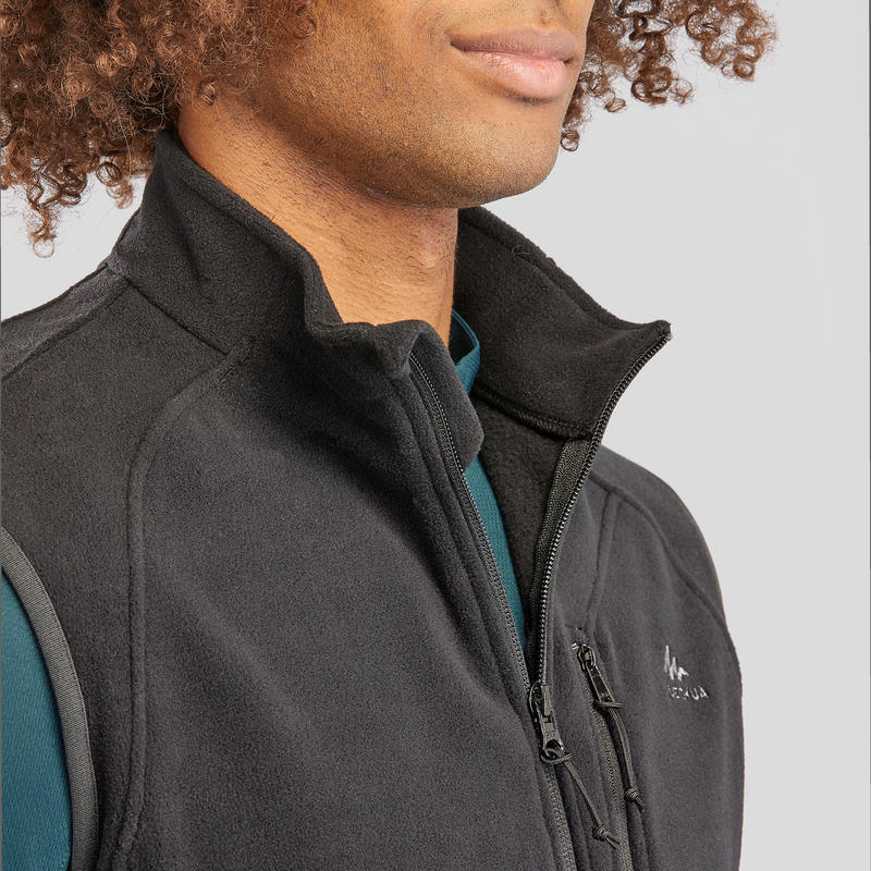 Men's Fleece Gilet MH120 - Black