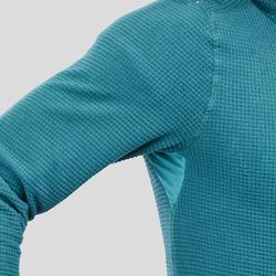 Men's Mountain Hiking Fleece MH500 - Turquoise
