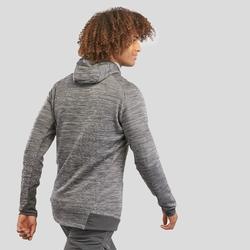 Fleece vest heren MH900 gemêleerd grijs