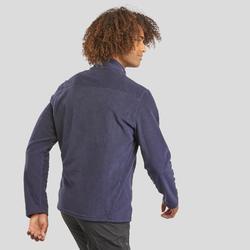 Fleece vest voor bergwandelen heren MH120 marineblauw