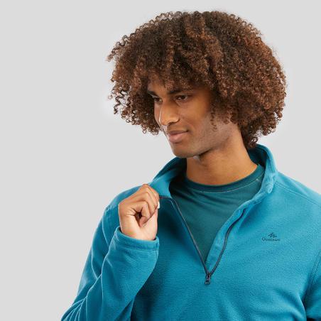 Polaire de randonnée montagne homme MH100 Turquoise