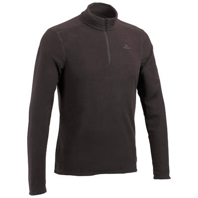 Men's Mountain Walking Fleece MH100 - Black