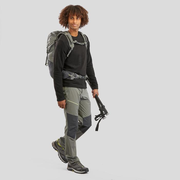 Polaire de randonnée montagne homme MH20 Noir