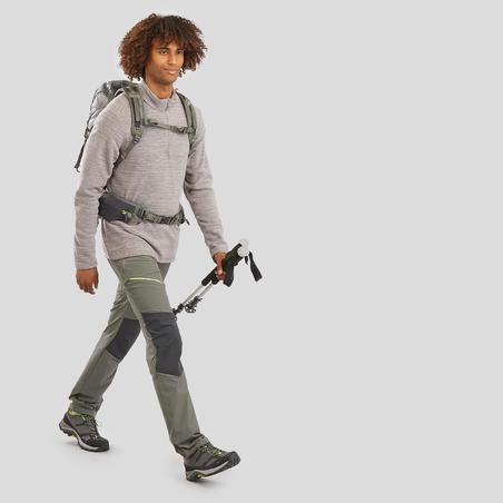 Chandail de randonnée en laine polaireMH100 – Hommes