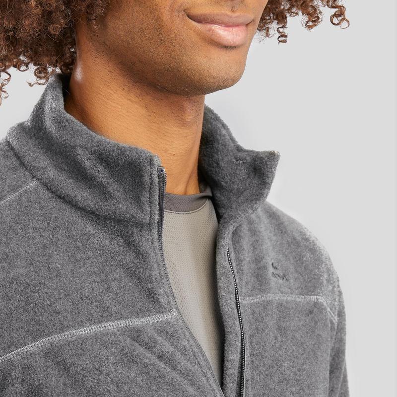 Men's Fleece MH120 - Mottled grey
