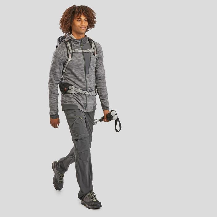 Veste Polaire de randonnée montagne - MH900 - Homme