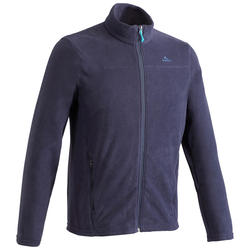 Men's Fleece MH120 - Navy Blue