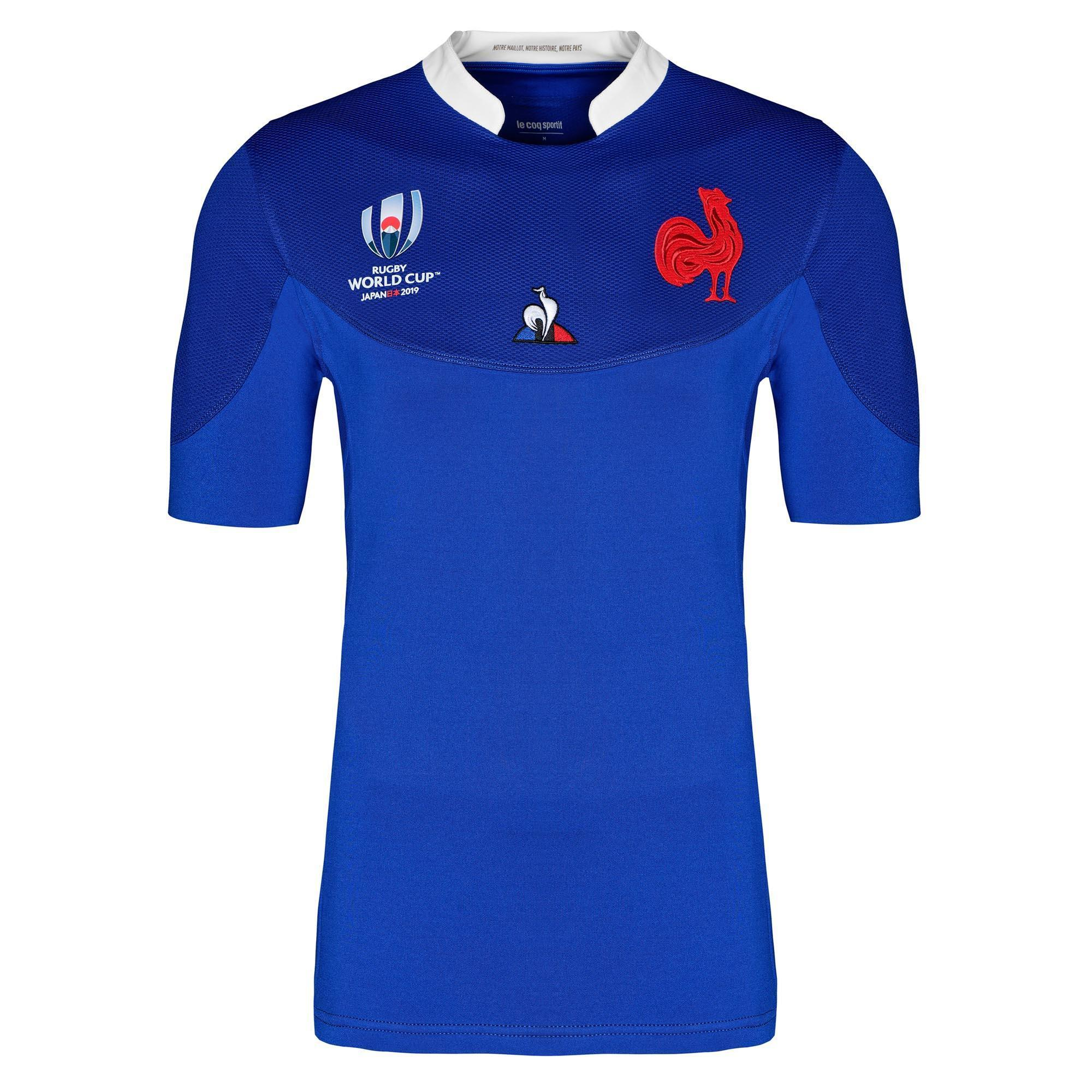Maillot de rugby replica FFR XV de France