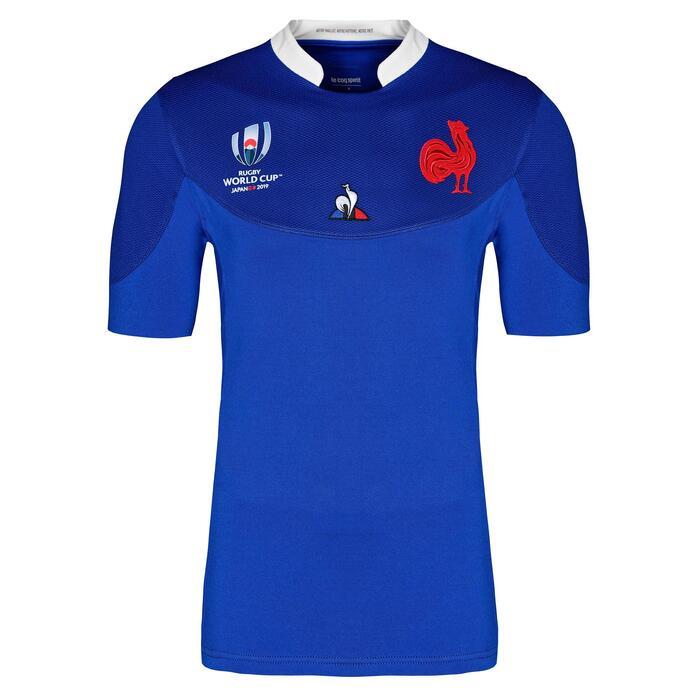 Replica rugbyshirt voor kinderen Frankrijk WK 2019
