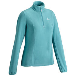 Women's fleece MH100 - Blue grey