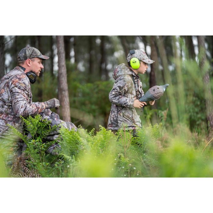 Regenjacke / Jagdjacke Kinder warm SIBIR 300 camouflage