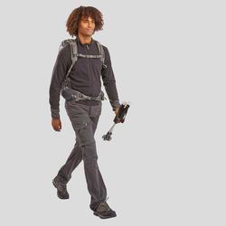 Men's Mountain Hiking Fleece MH520 - Black