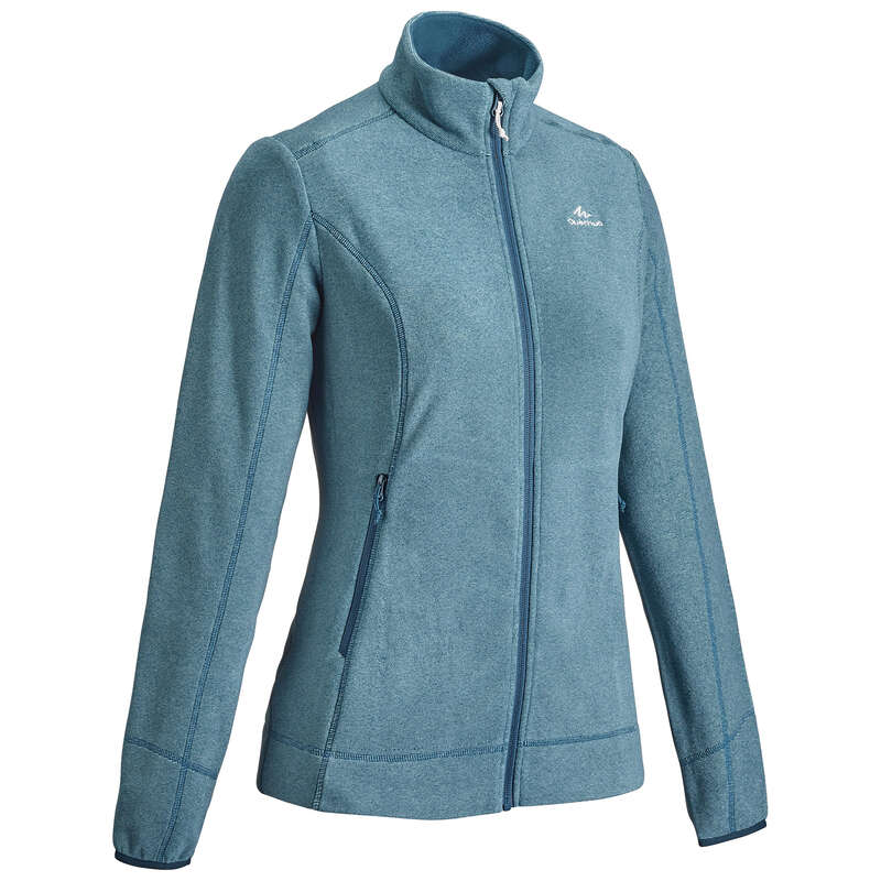WOMEN MOUNT HIKING FLEECES Hiking - Women's Fleece MH120 - TQS QUECHUA - Hiking Clothes