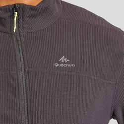 男款登山健行刷毛外套MH520-黑色