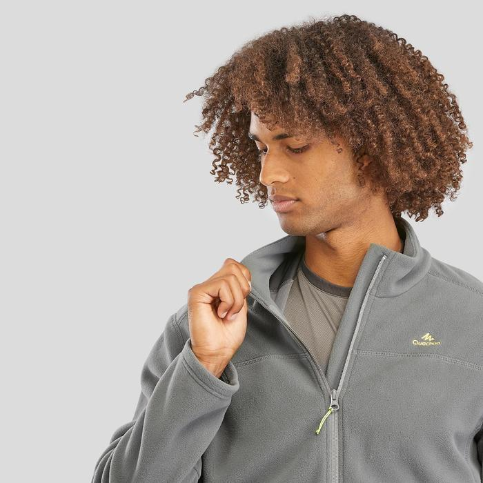 Men's Mountain Walking Fleece MH120 - Khaki