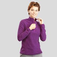 Women's Mountain Hiking Fleece MH100 - Purple