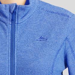 Women's Mountain Walking Fleece Jacket MH120 - Dark Blue