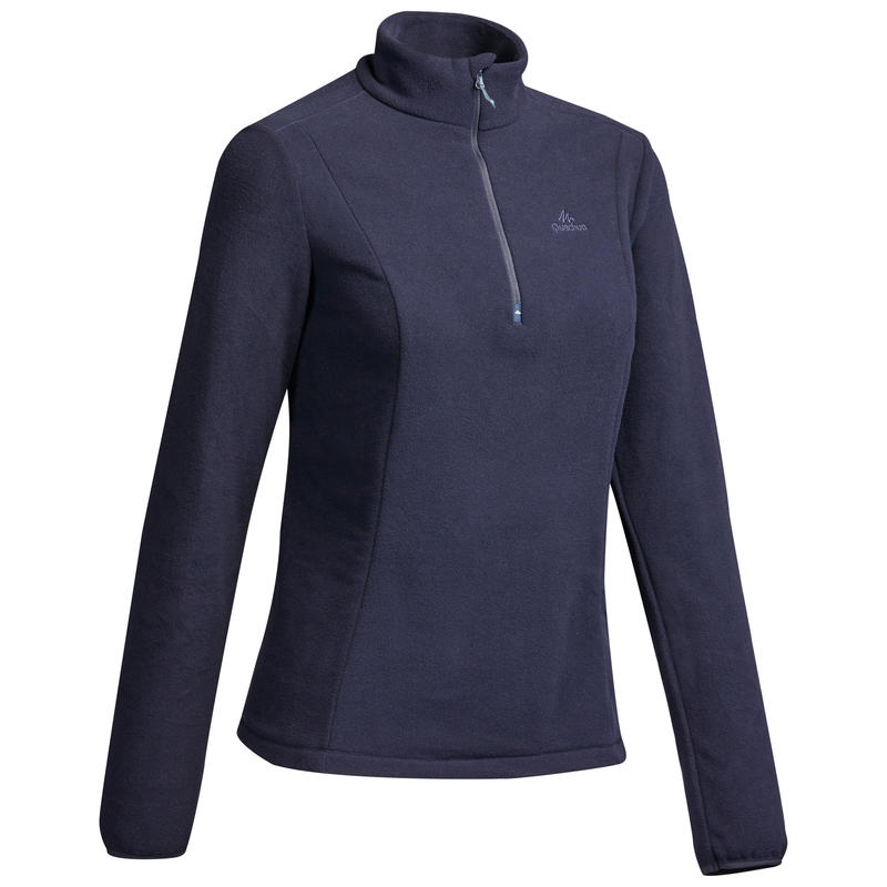 MH100 Women's Mountain Hiking Fleece - Navy