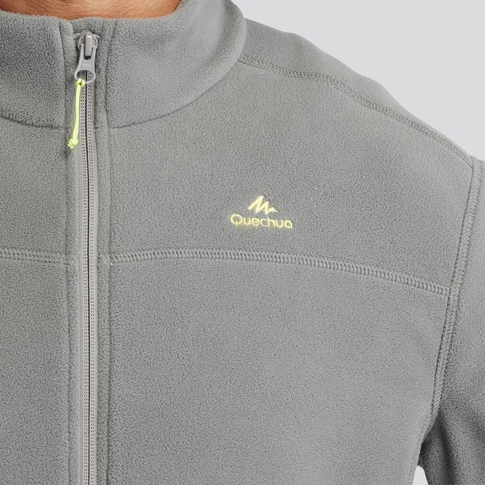 Fleece vest voor bergwandelen heren MH120 kakigroen