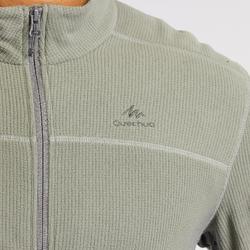 男款登山健行刷毛外套MH520-卡其色