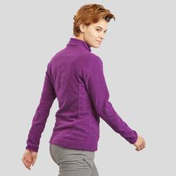 Fleece vest dames MH120 paars