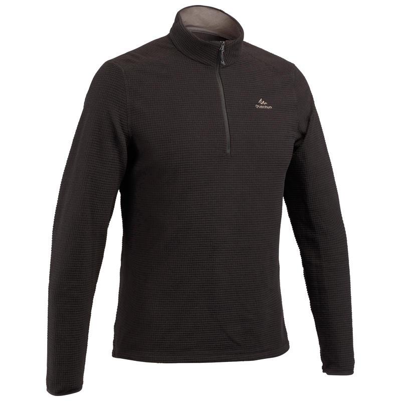 Men's Mountain Hiking Fleece MH500 - Black