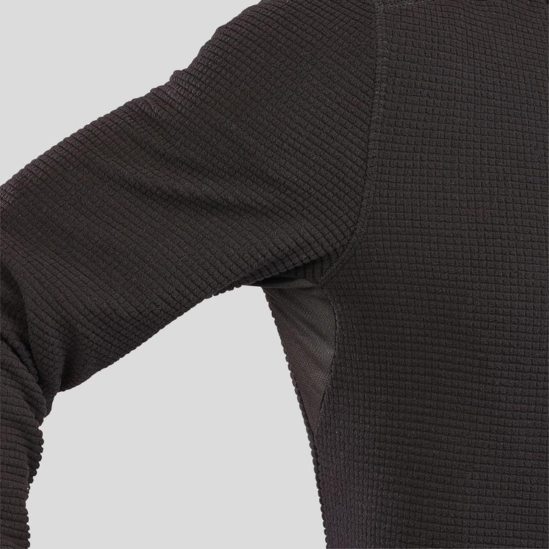 Men's Mountain Walking Fleece MH500 - Black