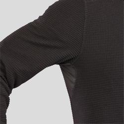 Herenfleece voor bergwandelen MH500 zwart