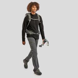 Polaire de randonnée montagne MH500 homme Noir