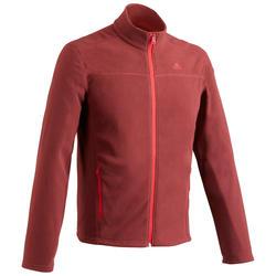 Fleece vest heren MH120 bordeaux
